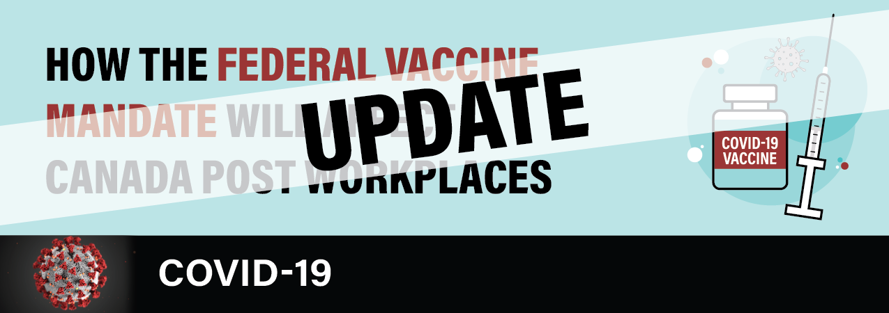 How the Federal Vaccine Mandate Will Affect Canada Post Workplaces
