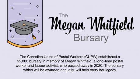 The Megan Whitfield Bursary.