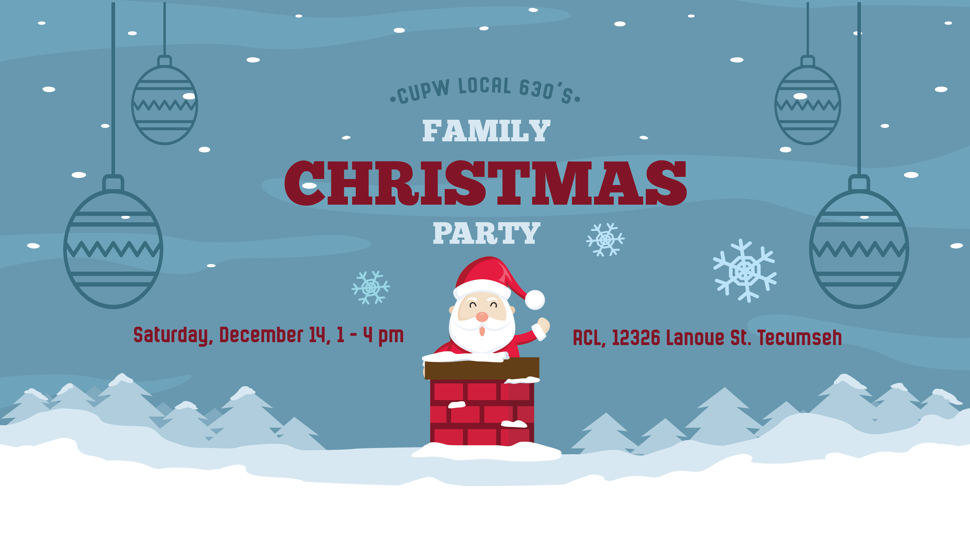 Local 630 Family Christmas Party
