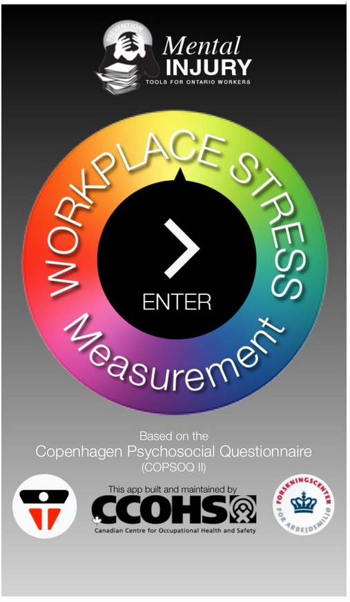 Measure Workplace Stress App
